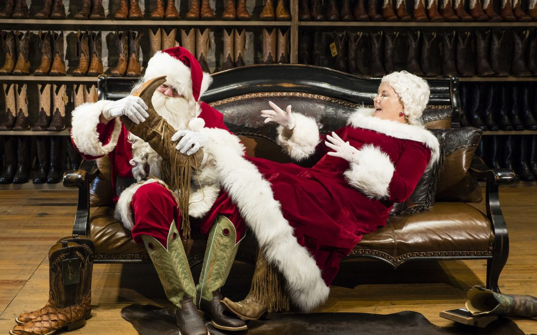 Stocking up for Santa's Sleigh in San Saba
